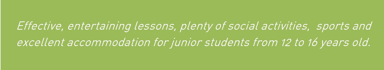 junior courses